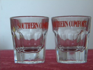 Southern Comfort bicchierini