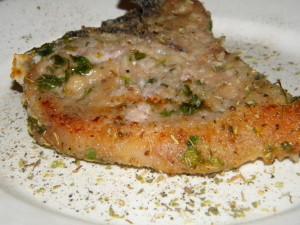 Maiale al forno in crosta speziata