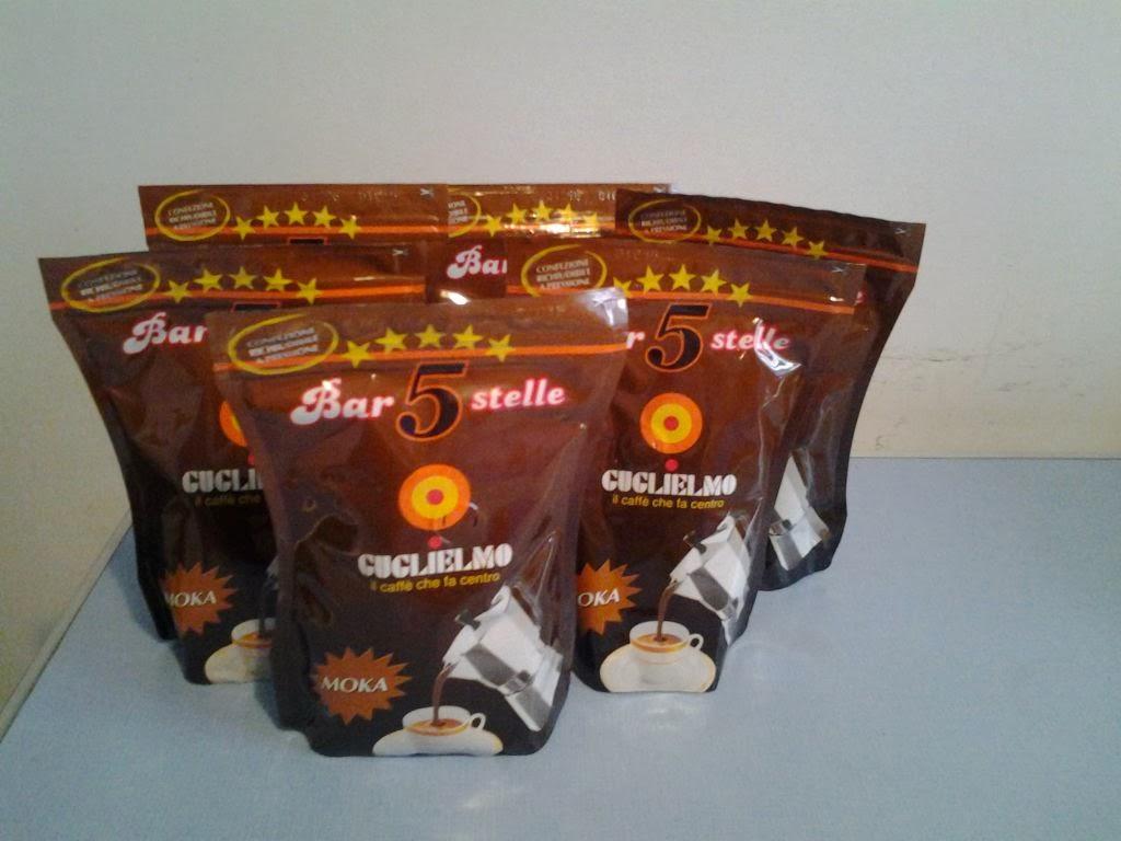 Guglielmo caffè, bar 5 stelle
