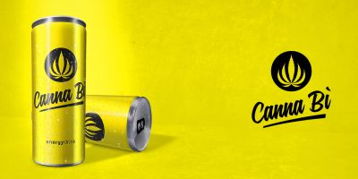 Canna Bì energy drink made in Itaky