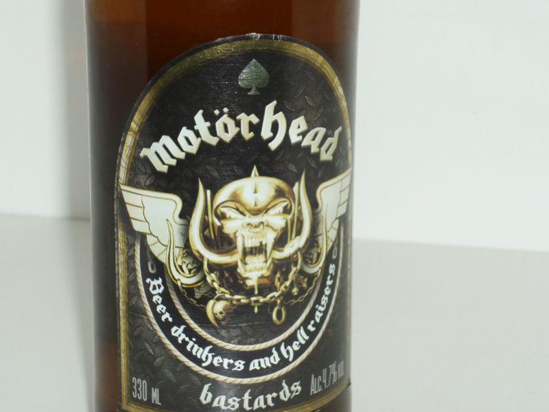 Bastards, la lager bionda dei Motorhead