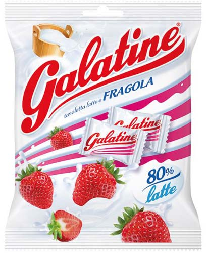 Galatine Latte e Fragola