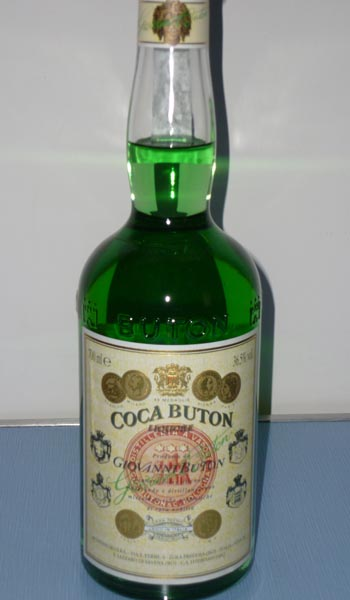 coca buton bottiglia