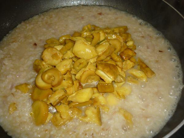 riso e ovoli