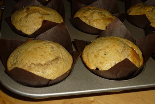 muffin mele cannella